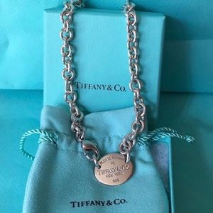 "Tiffany & Co. Silver ""Return To Tiffany"" Necklace"